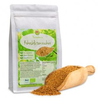 Ekologiczny cukier kokosowy BIO od Naturherz -