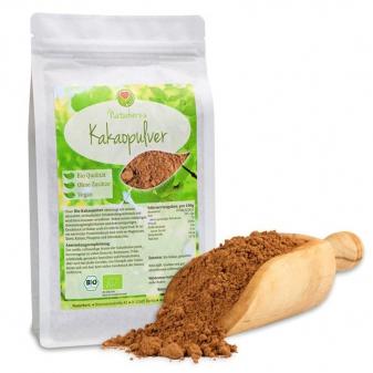 Ekologiczne naturalne kakao BIO od Naturherz -