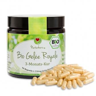 Mleczko pszczele w kapsułkach- BIO Proszek Royal Jelly -