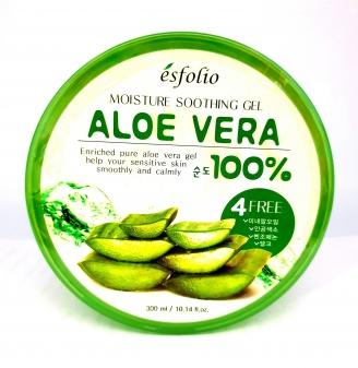 Żel aloesowy 100% Aloe Vera -