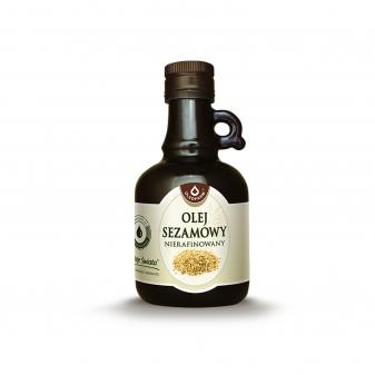 olej sezamowy nierafinowany Oleofarm