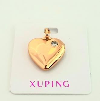 zawieszka serce z cyrkonią Xuping