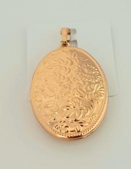 zawieszka medalion otwierany złoty Xuping