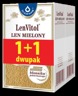 Len mielony dwupak LenVitol